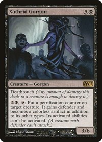 Xathrid Gorgon, Magic: The Gathering, Magic 2013 (M13)
