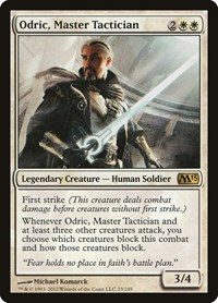 Odric, Master Tactician, Magic: The Gathering, Magic 2013 (M13)