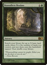 Boundless Realms, Magic: The Gathering, Magic 2013 (M13)