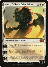 Ajani, Caller of the Pride (Foil)