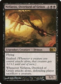 Nefarox, Overlord of Grixis, Magic: The Gathering, Magic 2013 (M13)