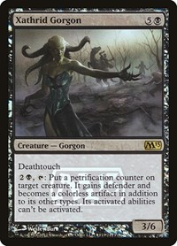 Xathrid Gorgon, Magic: The Gathering, Prerelease Cards