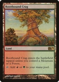 Rootbound Crag, Magic: The Gathering, Magic 2013 (M13)