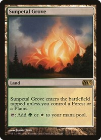 Sunpetal Grove, Magic: The Gathering, Magic 2013 (M13)