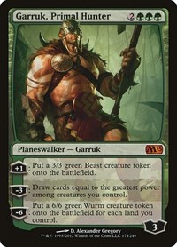 Garruk, Primal Hunter (Foil)