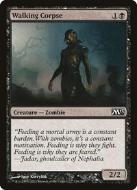 Walking Corpse, Magic: The Gathering, Magic 2013 (M13)