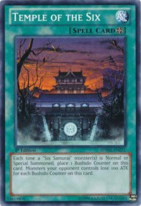 Temple of the Six, YuGiOh, Structure Deck: Samurai Warlords