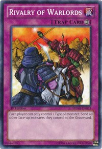 Rivalry of Warlords, YuGiOh, Structure Deck: Samurai Warlords