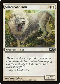 Silvercoat Lion, Magic: The Gathering, Magic 2013 (M13)