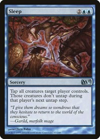 Sleep, Magic: The Gathering, Magic 2013 (M13)