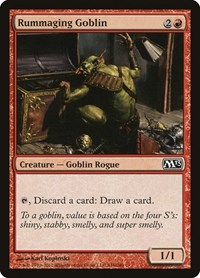 Rummaging Goblin, Magic, Magic 2013 (M13)