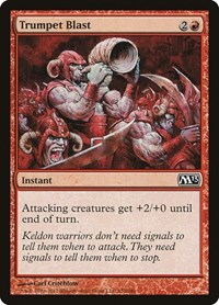 Trumpet Blast, Magic: The Gathering, Magic 2013 (M13)