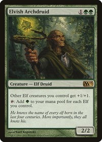 Elvish Archdruid, Magic: The Gathering, Magic 2013 (M13)