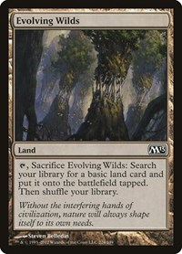 Evolving Wilds, Magic: The Gathering, Magic 2013 (M13)