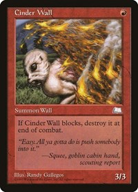 Cinder Wall, Magic, Weatherlight