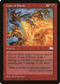 Cone of Flame, Magic: The Gathering, Weatherlight