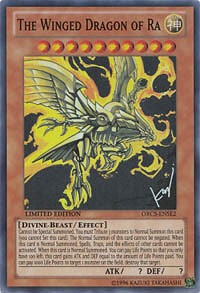 The Winged Dragon of Ra, YuGiOh, Order of Chaos SE