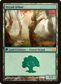 Dryad Arbor, Magic: The Gathering, From the Vault: Realms