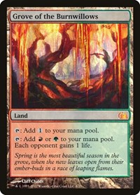 Grove of the Burnwillows, Magic: The Gathering, From the Vault: Realms