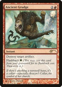 Ancient Grudge, Magic: The Gathering, FNM Promos