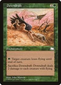 Downdraft, Magic: The Gathering, Weatherlight
