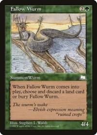 Fallow Wurm, Magic, Weatherlight