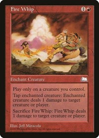 Fire Whip, Magic: The Gathering, Weatherlight