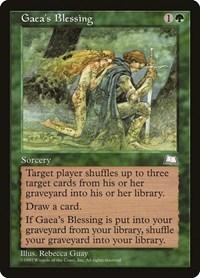 Gaea's Blessing, Magic, Weatherlight