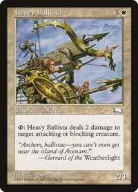 Heavy Ballista, Magic: The Gathering, Weatherlight