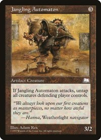 Jangling Automaton, Magic: The Gathering, Weatherlight