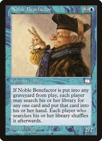 Noble Benefactor, Magic: The Gathering, Weatherlight