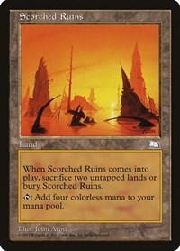 Scorched Ruins, Magic: The Gathering, Weatherlight
