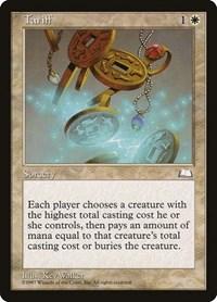 Tariff, Magic: The Gathering, Weatherlight