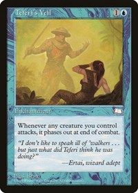 Teferi's Veil, Magic: The Gathering, Weatherlight