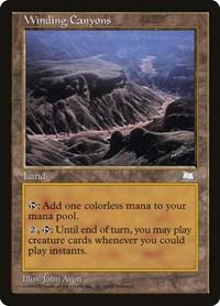 Winding Canyons, Magic: The Gathering, Weatherlight