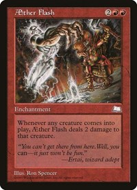 Aether Flash, Magic, Weatherlight