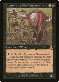 Apprentice Necromancer, Magic: The Gathering, Urza's Destiny