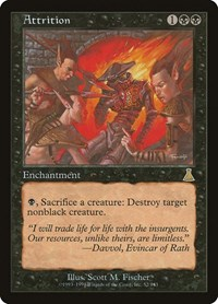 Attrition, Magic: The Gathering, Urza's Destiny