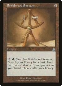 Braidwood Sextant, Magic: The Gathering, Urza's Destiny