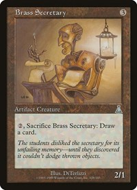 Brass Secretary, Magic: The Gathering, Urza's Destiny