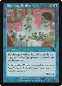 Bubbling Beebles, Magic: The Gathering, Urza's Destiny