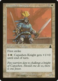 Capashen Knight, Magic: The Gathering, Urza's Destiny