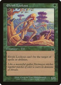 Elvish Lookout, Magic: The Gathering, Urza's Destiny