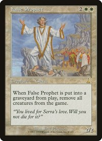 False Prophet, Magic: The Gathering, Urza's Destiny