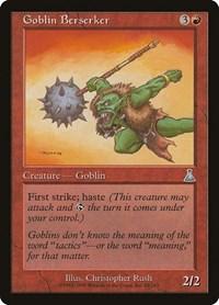Goblin Berserker, Magic: The Gathering, Urza's Destiny