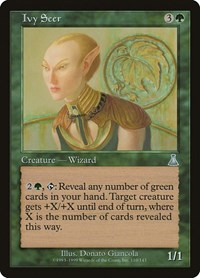 Ivy Seer, Magic: The Gathering, Urza's Destiny