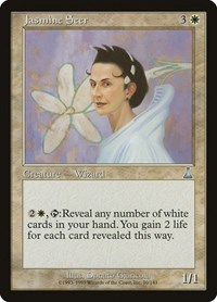 Jasmine Seer, Magic: The Gathering, Urza's Destiny