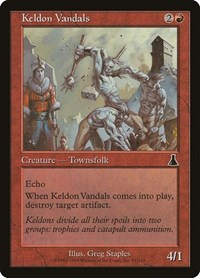 Keldon Vandals, Magic: The Gathering, Urza's Destiny