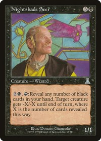 Nightshade Seer, Magic: The Gathering, Urza's Destiny