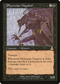 Phyrexian Negator, Magic: The Gathering, Urza's Destiny